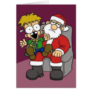 Santa Pain Card