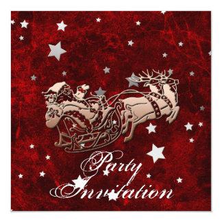 Santa Party Invitation