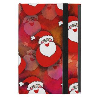 Santa Pattern iPad Mini Cover