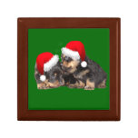 Santa Paws Is Coming to Town Keepsake Boxes