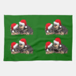 Santa Paws Is Coming to Town Towel