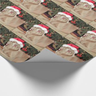Santa Paws - Weimaraner Style - (1074) Wrapping Paper