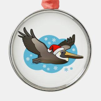 Santa Peli Metal Ornament