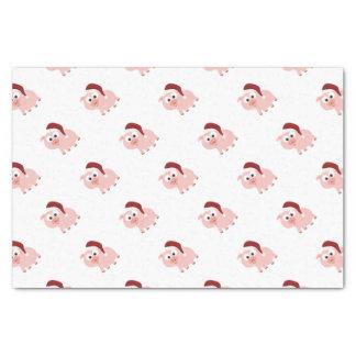 Santa Pig Tissue Paper