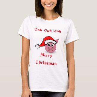 Santa Piggy T-Shirt