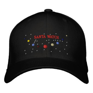 SANTA PLANETS - HAT EMBROIDERED HAT