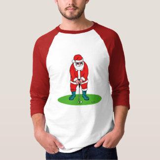 Santa plays golf T-Shirt