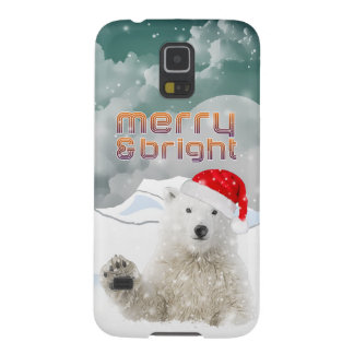 Santa Polar Bear | Samsung Galaxy S5/S4 Cases