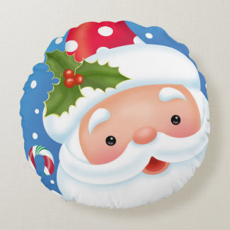 Santa Portrait Pillow
