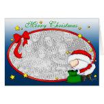 Santa Presents template Card