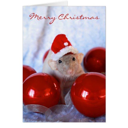 Santa Rattie Card