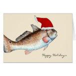 Santa Redfish Christmas