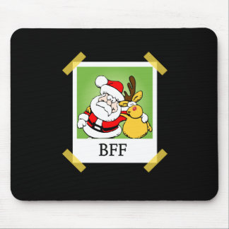 Santa & Reindeer  BFF's Mouse Pads