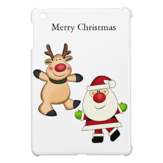 Santa & Reindeer iPad Mini Cover