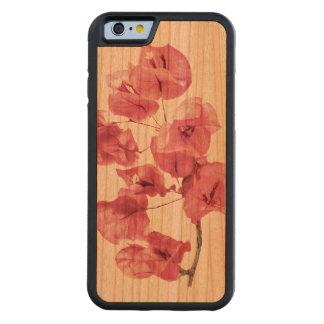 Santa Rita Flowers Photo Carved Cherry iPhone 6 Bumper Case