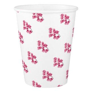 Santa Rita Flowers Photo Paper Cup