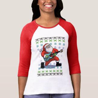 Santa Rock Ugly T-Shirt