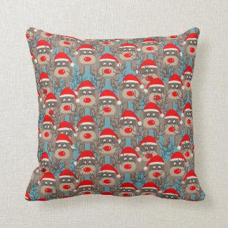 Santa Rudolf Pattern Cushion