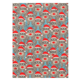 Santa Rudolf Pattern Tablecloth