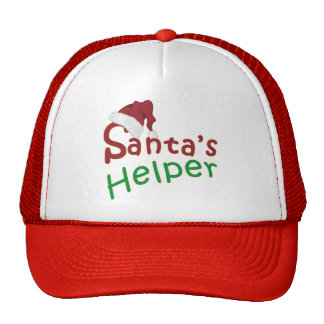 Santa s Helper Christmas Santa Hat Design