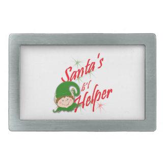 Santa s lil Helper elf Belt Buckles