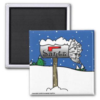 Santa s Mailbox Magnet