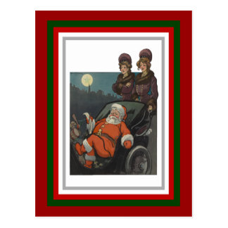 Santa s Wish List Post Card