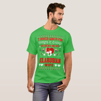 Santa Sent Belarusian Wife Christmas Ugly Sweater