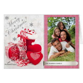 Santa Shoe Scannable‎ ‎Photo card with funny video