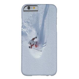 Santa Skiing at Snowbird Ski Resort, Wasatch Barely There iPhone 6 Case