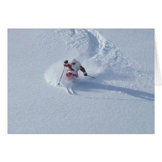 Santa Skiing at Snowbird Ski Resort, Wasatch Card