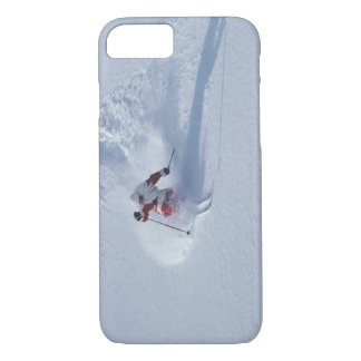 Santa Skiing at Snowbird Ski Resort, Wasatch iPhone 7 Case