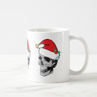 Santa Skull Christmas Mug