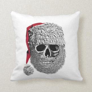 Santa skull cushion