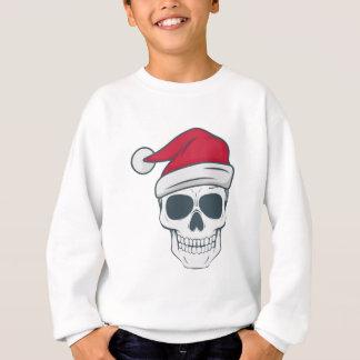 santa-skull sweatshirt
