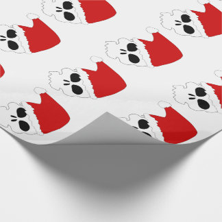 Santa Skulls/Christmas Wrapping Paper