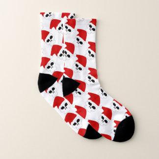 Santa Skulls Socks