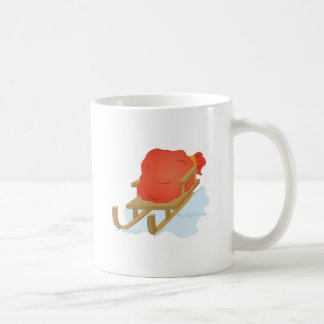 Santa Sled Coffee Mug