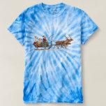Santa, Sleigh, Angels & Reindeer Shirt