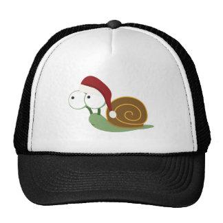 Santa Snail Mesh Hats