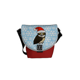 Santa Spectacled Owl Commuter Bags