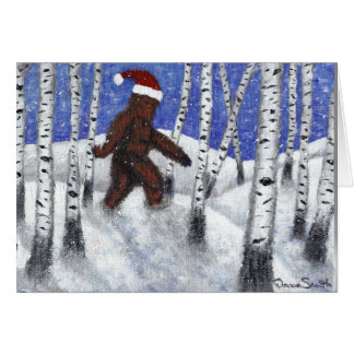 Santa Squach Card
