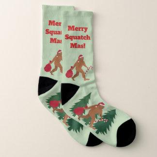 Santa Squatch Holiday Bigfoot LRG Ugly Christmas 1