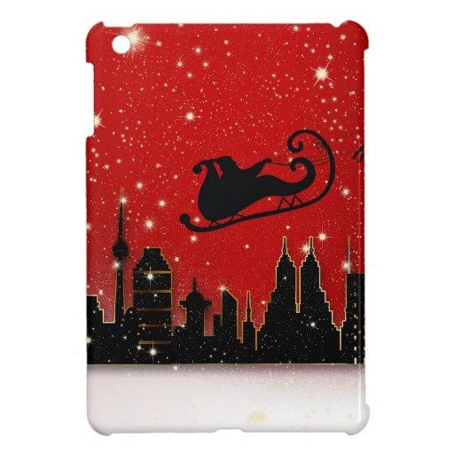 Santa & Starry Night Destiny Holidays iPad Mini Covers