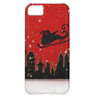 Santa & Starry Night Destiny Holidays iPhone 5C Case