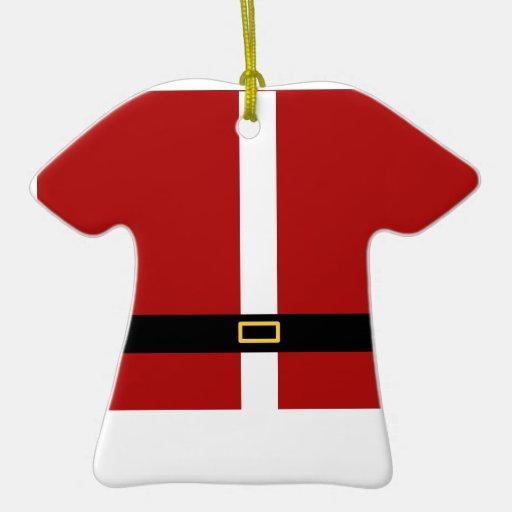 Santa Suit Christmas Tree Ornaments