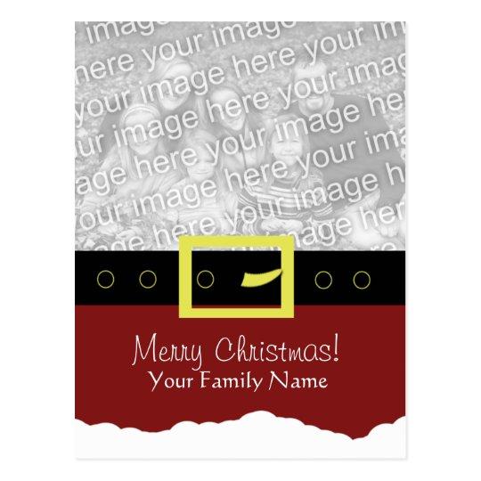 Santa Suit Photo Card... Postcard