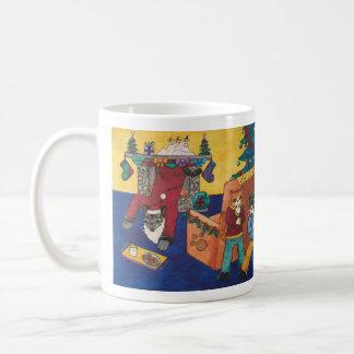 Santa Surprise Coffee Mug
