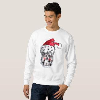 Santa Sweatshirt - Santa Claus Skull