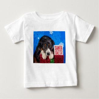 Santa take cat baby T-Shirt